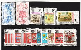 Post308 TSCHECHOSLOWAKEI CSSR 1968 MICHL 1814/28 ** Postfrisch SIEHE ABBILDUNG - Tschechoslowakei/CSSR