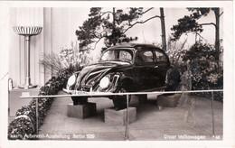Propaganda Karte,  Internationale Automobil - Ausstellung Berlin 1939, VW Käfer ! - Weltkrieg 1939-45