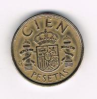 //  SPANJE 100 PESETAS 1989 JUAN CARLOS - [ 5] 1949-… : Royaume