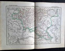 Rus Sie D'Europe Partie Méridionale Par De Lamarche 1831. - Geographical Maps
