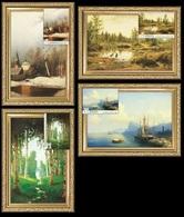 Belarus 2018 - Masterpieces Of Painting 4 Maxicards. Paesaggio Paysage Landschaft Bielorussia/Weißrussland/Biélorussie - Unclassified