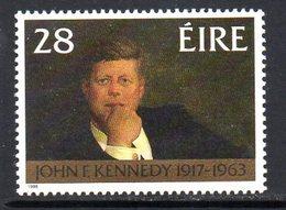 Ireland 1988 John F Kennedy Commemoration, MNH, SG 707 - 1949-... République D'Irlande
