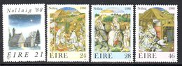Ireland 1988 Christmas Set Of 4, MNH, SG 708/11 - 1949-... République D'Irlande
