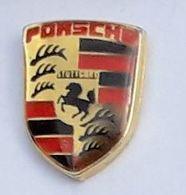 V434 Pin's Porsche AUTOMOBILE CAR  LOGO Voiture 16 Mm - Porsche