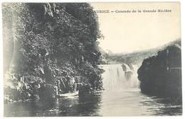 Cpa Maurice - Cascade De La Grande Rivière ( édition Messageries Maritimes ) - Mauritius