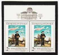 Post313 TSCHECHOSLOWAKEI CSSR 1967 MICHL  + 1718 PAAR ** Postfrisch SIEHE ABBILDUNG - Tschechoslowakei/CSSR