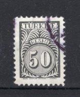 TURKIJE Yt. S51° Gestempeld Dienstzegel 1957 - 1921-... République