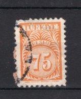 TURKIJE Yt. S53° Gestempeld Dienstzegel 1957 - 1921-... République