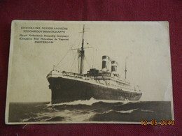CPA - Koninklijke Nederlandsche - Stoomboot-Maatschappij - Barche