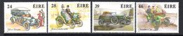 Ireland 1989 Classic Cars Set Of 4, MNH, SG 718/21 - 1949-... République D'Irlande