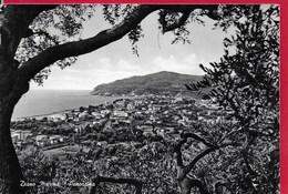 CARTOLINA VG ITALIA - DIANO MARINA (IM) - Panorama - 10 X 15 - ANN. 1963 - Imperia