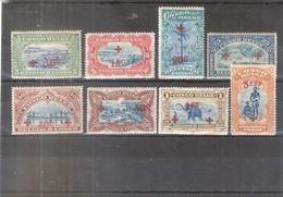Congo Belge - Mols - Croix-Rouge - 72/79 - X/MH - Congo Belge