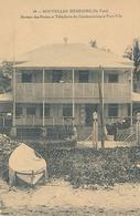 NOUVELLES HEBRIDES  - N° 18 (ILE VATE) BUREAU DE POSTE ET TELEPHONE DU CONDOMINIUM A PORT VILA - Vanuatu