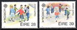Ireland 1989 Europa Children's Games Set Of 2, MNH, SG 722/3 - 1949-... République D'Irlande