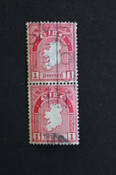 IRLANDE 1 PINSIN , PAIRE VERTICALE, OBLITERES TB - 1922-37 Stato Libero D'Irlanda