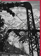 CARTOLINA VG ITALIA - GRESSONEY (AO) - Seggiovia Di Weissmatten - 10 X 15 - ANN. 1959 - Italia