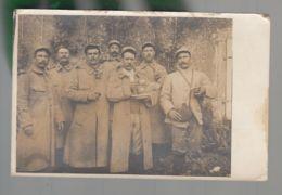 CPA - Milit. - Groupe De Militaires - 232 Sur Le Col - Carte Photo Non Située, Non Datée - Guerre 1914-18