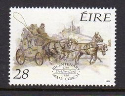 Ireland 1989 Bicentenary Of Mail Coach Service, MNH, SG 727 - 1949-... République D'Irlande