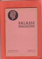 BALASSE MAGAZINE  N° 34  JUIN 1944   (d Autres N° Disponibles Contactez Moi ) - Littérature