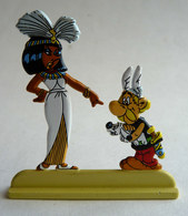 FIGURINE ASTERIX ET CLEOPATRE EN METAL PEINT ATLAS - EN LOOSE - Asterix & Obelix