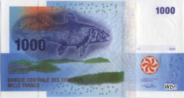 Comores 1000 Francs (P16) 2005 -UNC- - Comoros