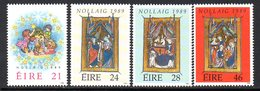 Ireland 1989 Christmas Set Of 4, MNH, SG 738/41 - 1949-... République D'Irlande