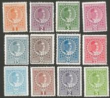 Montenegro. 1913 King Nicholas I. Sc. 99-110. CV $8.05. MH - Montenegro