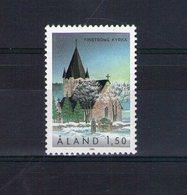 Aland. église De Fingström - Aland