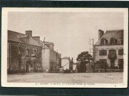 CPA - GUIPRY - L'Arrivée Route De Pipriac, Animé - Automobile - France