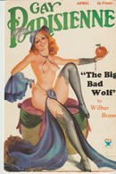 C.P. - GAY PARISIENNE - THE BIG BAD WOLF - BY WILBUR BRAUN - N.R.A. - - Kabarett