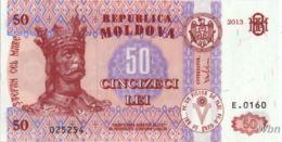 Moldavie 50 Lei (P14) 2013 -UNC- - Moldova