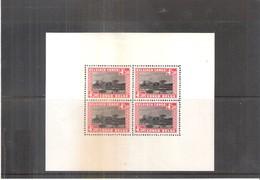 Congo Belge - BL.1 - X/MH - Blocs