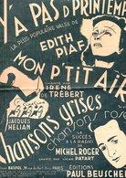 PARTITION Y'A PAS D' PRINTEMPS HENRI CONTET / MARGUERITE MONNOT - Partitions Musicales Anciennes