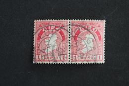 IRLANDE 1 PINSIN ,PAIRE HORIZONTALE, OBLITERES, TB - 1922-37 Stato Libero D'Irlanda