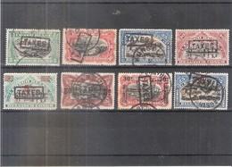 Congo Belge - Taxe - 8 Différents - Obl/gest/used (à Voir) - Taxe: Oblitérés