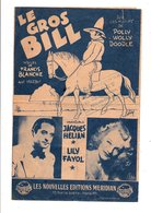 PARTITION LE GROS BILL FRANCIS BLANCHE / R. MARBOT - Partitions Musicales Anciennes