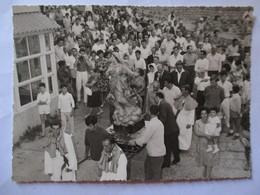 CORSE - CALVI - Photo Originale Années 60 - Procession Assomption De La Vierge - TBE - Lieux