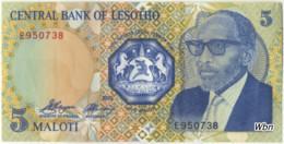 Lesotho 5 Malotis (P10a) -UNC- - Lesotho