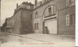JOIGNY - école Saint Jacques - L'entrée De L'école - Joigny