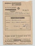 """Bon De Transport """" Comptaco """" - Transportation Tickets"""