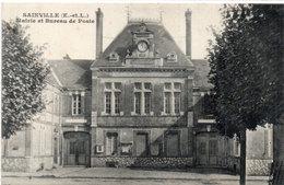 SAINVILLE -  Mairie Et Bureau De Poste    (113777) - Other Municipalities