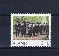 Aland. 70e Anniversaire Du 1er Parlement - Aland