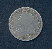 ROYAUME UNI – 1 SHILLING 1893 - 1816-1901 : Coniature XIX° S.