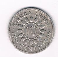 10 CENTS 1964 SIERRA LEONE /3967/ - Sierra Leone