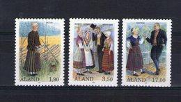 Aland. Costumes Régionaux - Aland