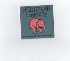 Sous Bock -- DELIRIUM TREMENS -- Recto Et Verso - Beer Mats