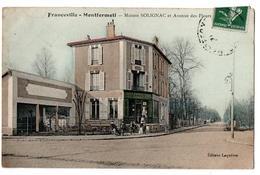 FRANCEVILLE-MONTFERMEIL MAISON SOLIGNAC BAR VINS  ANIMEE - France