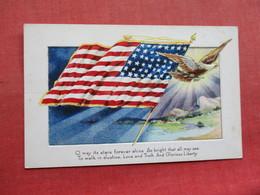 Patriotic US Flag Embossed     Ref 3351 - Patriotic
