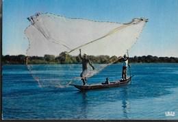 AFRICA IN COLOUR - FISHING SCENE - NUOVA - Africa