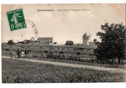 MONTFERMEIL PANORAMA DU PLATEAU DU MOULIN ANIMEE - Montfermeil
